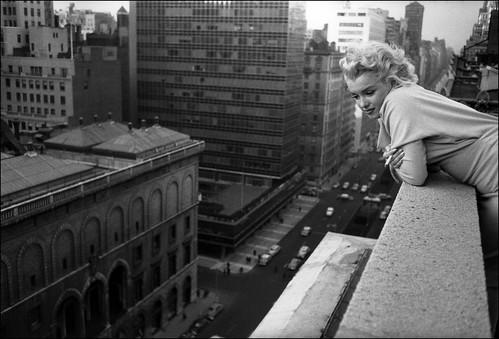 Marilyn Monroe en Nueva York 1955
