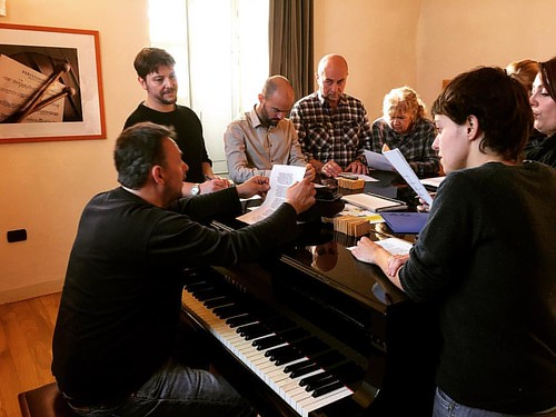 CANTI d'OCCITANIA // Occitan songs workshop in Lou Dalfin's Uvernada festival in Saluzzo (CN). Repertoire, vocal tecniques, polyphonies and choral arrangements, traditional chants and original composition with Manu Théron,