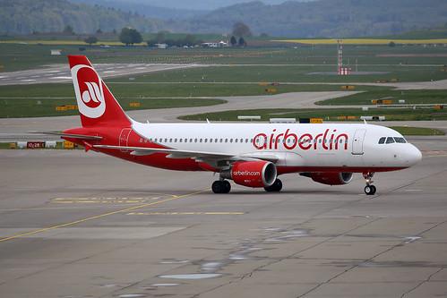 Air Berlin (Belair) Airbus A320-214 HB-IOZ