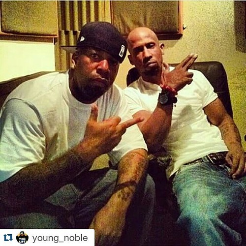 #Repost @young_noble ・・・ My heart is empty right now!! Rest in Paradise to my big bro Hussein Fatal he passed away in a car accident! Pray for his family an kids at this time.... #RipFatal #Outlaw4Life