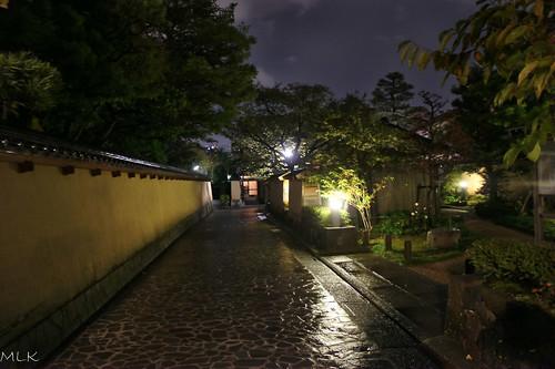 Kanazawa. Naga-machi samurai quarter