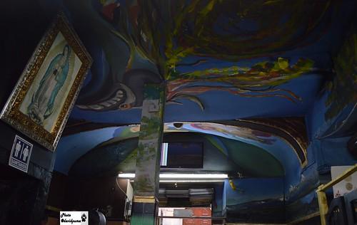 El techo y la virgen