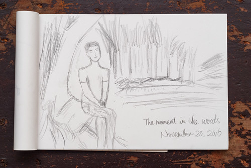 林中片刻/A Moment in the Woods