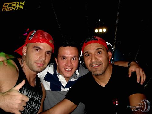 Crazy nights 20131127 06632 Carlos Gomix, Adrian Dalera & Edgar