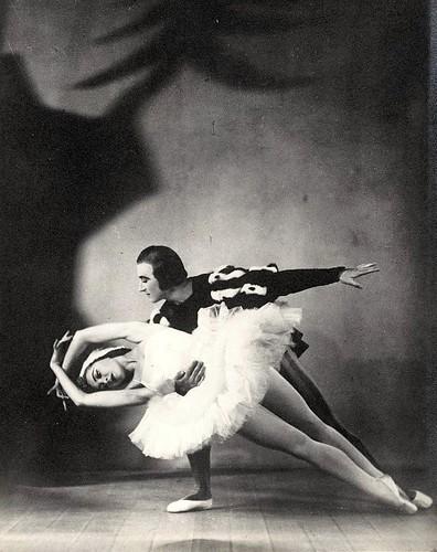 Irina Baronova & Anton Dolin in