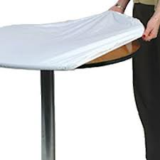 30 inch round Plastic Elastic Table Covers For Sale Anywhere In The US