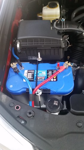 Dual Battery: Optima D27M installed