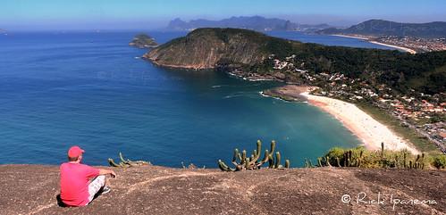 Costão de Itacoatiara e Eu - Niteroi - Rio de Janeiro