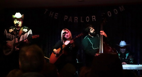 The Salvation Alley String Band at the Parlor Room First Night Northampton 2014