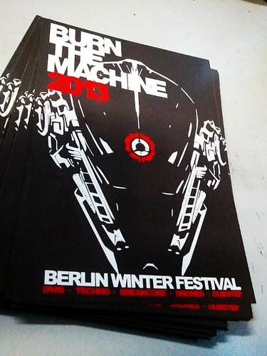 Burn The Machine 2013