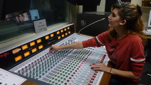 Sara Wasserman on Audio Board
