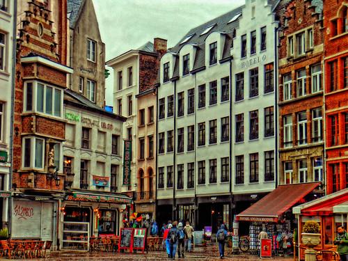 Antwerpen , Handschoenmarkt