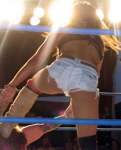 Mickie James - (TNA) Impact Wrestling 8/31/13 Shenandoah County Fair - Woodstock, Virginia