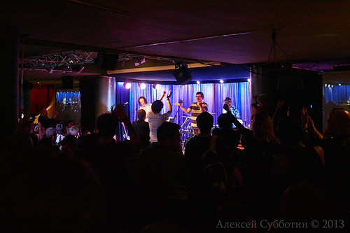 HBC THE SUPER TRIO at Alexey Kozlov club.