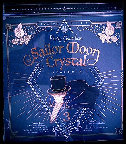Sailor Moon:Crystal Season 3 OP/ED Theme Songs CD 3