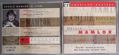 ursula mamlok- american masters