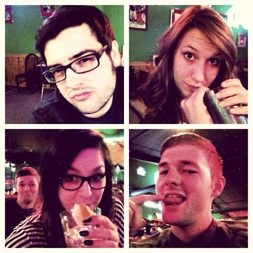 My #crew for the #night #randomhashtag...