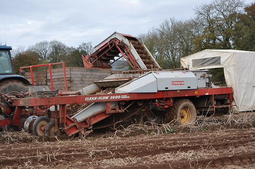 Reekie Clean-flow 2000 Potato Harvester