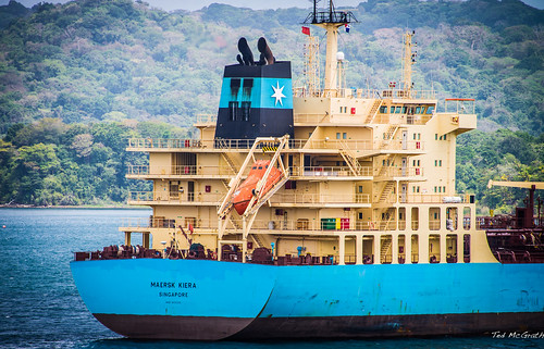 2014 - Panama Canal Transit - Maersk Kiera - 1 of 3