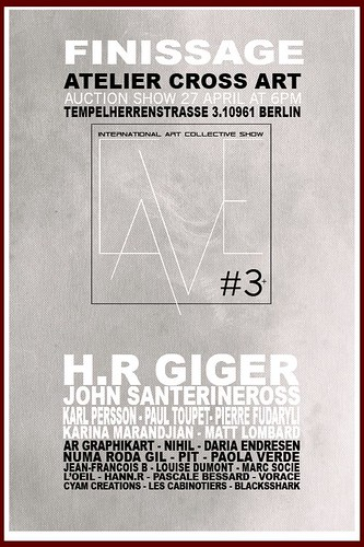 Atelier CROSS ART Berlin - LA CAVE #3