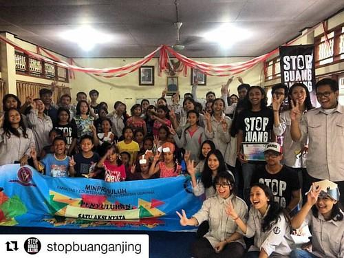 ✊🐶✊🐶✊🐶 #Repost @stopbuanganjing with @repostapp ・・・