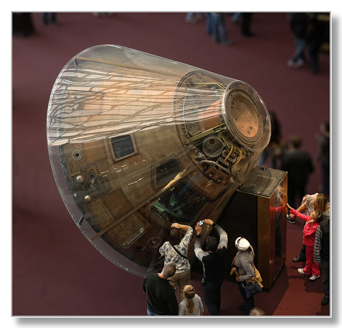 Washington D.C. - National Air and Space Museum - Apollo 11 Command Module