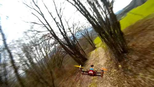 FPV Racing - Porco Playground - Crash