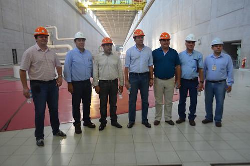 Comisión de Entes Binacionales Hidroeléctricos - Visita Hidroeléctrica Yacyretá - 22 Agosto 2014