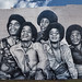 Jackson Five Mural in Downtown Gary Indiana