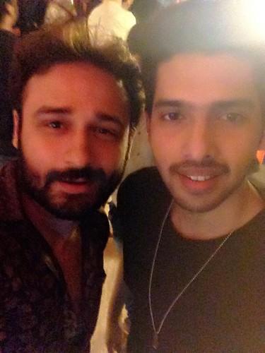 with my lovely bhai Armaan :) Instagram.com/JaeyGajera #ArmaanMalik #JaeyGajera #Bollywood