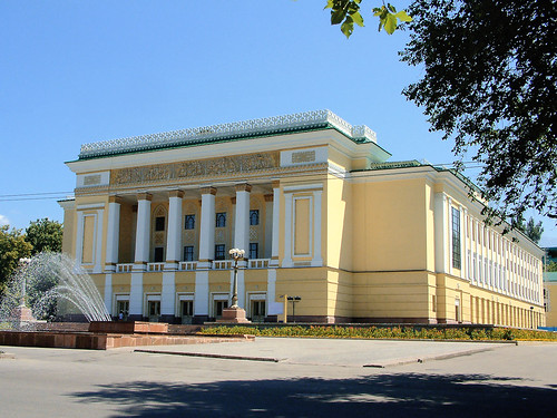 THE ABAI KAZAKH STATE ACADEMIC OPERA AND BALLET THEATRE