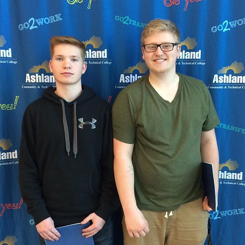 Shout-out to Dustin Huff and Kalub Harlow from Greenup County High School! They visited out Technology Drive Campus this week and are interested in our Electricity Program! #Go2ACTC