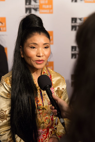 Yungchen Lhamo - interviewed at the Focus for Change Benefit 2014