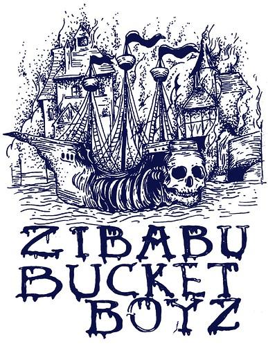 Cartaz | Tour Zibabu & Bucket Boys