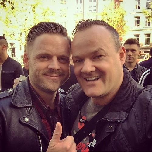 Selfie time with Eddie Thoneick. #jayfrog #eddiethoneick #ade #ade2014 #amsterdam #amsterdamdanceevent #dj #djontour #conference #felixmeritis