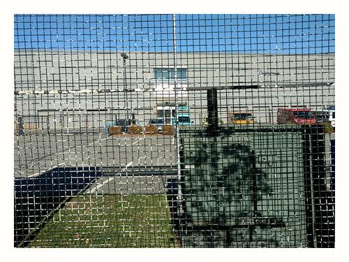 Fence in White Frame #5