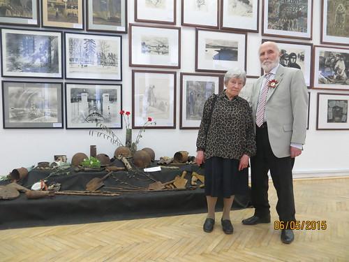 70years of Victory exhibition . St.Peterburg. Soyuz of Artists.BolshayaMorskaya38