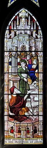 St Thomas, Southborough: south transept, south: detail