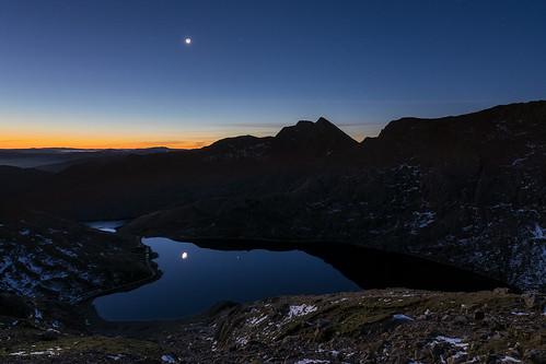 'Earthshine Over Snowdonia'