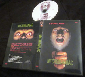 NECROMANIAC - Rare! SPANISH HORROR/SLASHER from 1971 on DVD