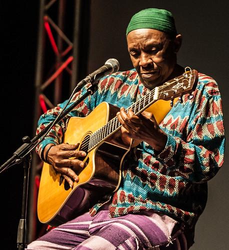 Baba Madala Kunene at Poetry Africa 2015