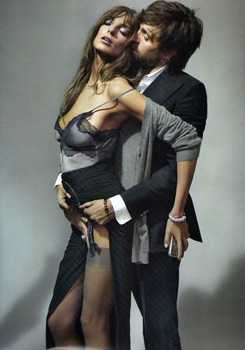 Daria Werbowy by Mario Testino in La Decadanse | Vogue Paris May 2010...