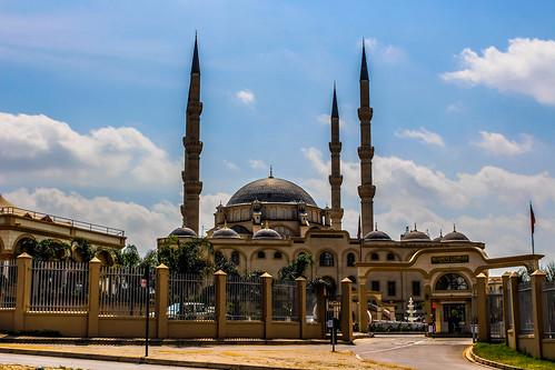 The Nizamiye Turkish Masjid in Midrand,