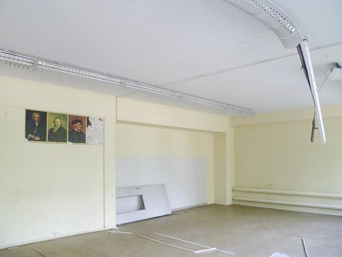 leere Schule, Berlin (DDR)
