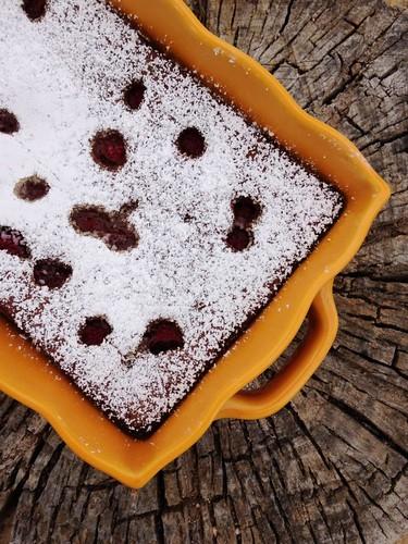 Bolo de Chocolate com Framboesas - IMG_8198