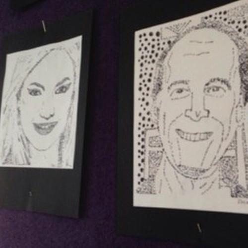 ✨More Grade 5/6 Pointillist Black Marker Portraits! ✨ #art #artclass #education #teacher #artteacher #artroom #students #fun #school #ArtEd #learn #child #create #creative #teachart #craft #arts #love #wholebrain #classroom #fun #artist