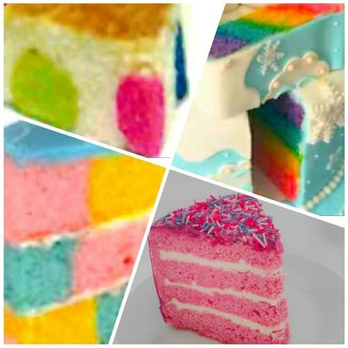 🎂🍰🌈 #cakes #tortas #polkadotcake #quequeperuano #bizcocho #bizcohos #rainbowcakes #squarecake #tortascoloridas #insidecake #kękę #queque #insidethecake  www.facebook.com/quierodulce1