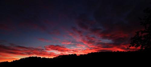 Sunset at Manum