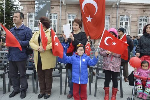 Cumhuriyet Bayramı Törenlerle Kutlandı (20)