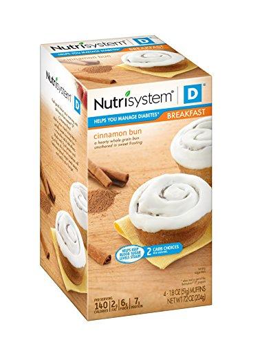 Nutrisystem ® D® Cinnamon Bun, 16 Count For Sale